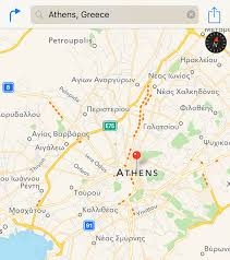 apple maps now provides traffic data in greece  mac rumors