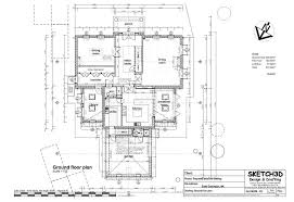 new self build 7 bed house ground floor plan