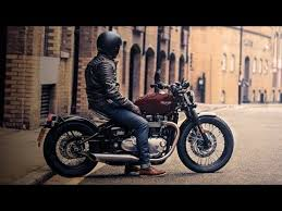 triumph bobber bonneville old style motorcycle youtube