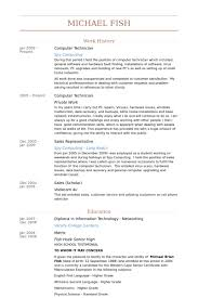 Computer Tech Resume Template Best of Computer Technical Resume Fastlunchrockco