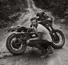 beckham s biker inspired collection for belstaff