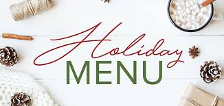 Holiday Menu Celebrate Together With The 2017 Tasty Catering Holiday Menu