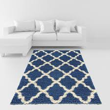bright blue area rug soft comfortable and in awesome for interior floor decor white gray yellow green orange carpet rugs dining room lattice s plush