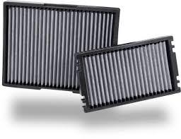 Car Air Filter Comparison Chart Washable Reusable Cabin Air Filters K N