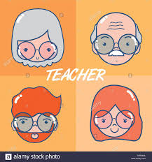 School Teachers Cartoons Stock Vector Art Illustration