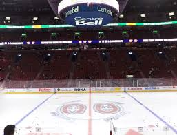 Montreal Canadiens Bell Center Seating Chart Bell Centre Section 101 Seat Views Seatgeek