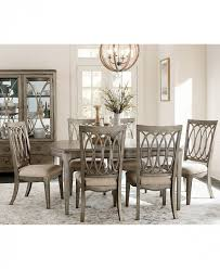 black dining room furniture sets. Dining Room:Oval Table Set For 6 Marais Room Furniture Macys Side Chairs Black Sets