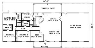 4 Bedroom House Plans One Story No Garage U2013 Home Plans IdeasSingle Level House Plans