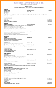 9 Sample Resume For Graduate School Application Azzurra Castle