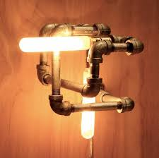 industrial design lighting fixtures. Industrial Knot Pipe Light Fixture Kickers Retail Store Design Lighting Fixtures