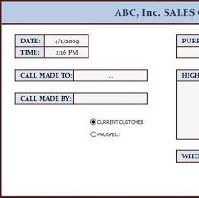 excel call log free data collection templates on excel sales call log