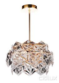 vera 6 lights pendant rose gold cux