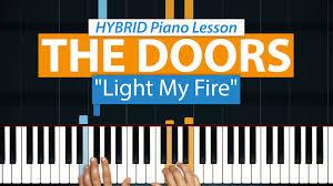 The Doors Light My Fire Chords Light My Fire Hdpiano
