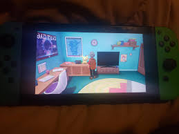 In pokemon sword/shield you character has a switch in their room and the joy  cons will mimic your joy con colors irl : GamingDetails