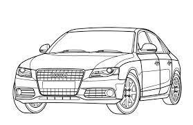 Die ingolstädter gehen mit der zeit und setzen auf einen. Malvorlagen Audi