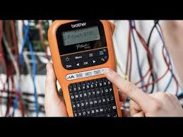 Demo Video: <b>Brother</b> PTE110 and <b>PTE110VP</b> Handheld Label ...