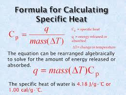the equation can be rearranged algebraically to solve for the amount of energy released or absorbed