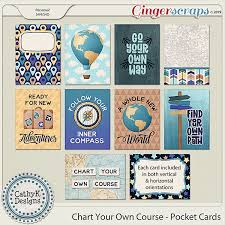Gingerscraps Embellishments Chart Your Own Course
