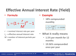 Nominal And Effective Interest Rates Ppt Download