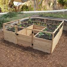 8 ft x 8 ft raised garden bed rb88