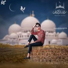 ramadan mubarak editing background
