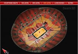 Heat Arena Seating Chart 3d American Airlines Arena City Video Guide Ifguide