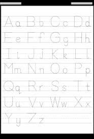 Printable Alphabet Writing Practice Sheets Tracing Letter Tracing Free Printable Worksheets