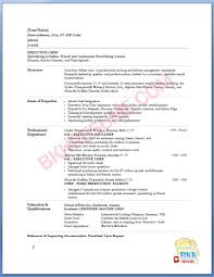 Enchanting Head Chef Resume Examples About Sous 5 Cook Objective 3