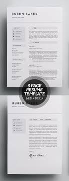 Simple Resume Templates Design Design Graphic Design Junction
