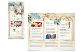 microsoft office catalog templates hospice home care tri fold brochure template word publisher