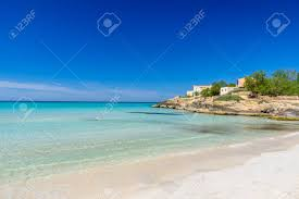 beach es trenc beautiful coast of mallorca spain stock photo 82794007