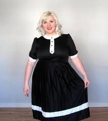 plus size wednesday addams costume wednesday addams dress plus size