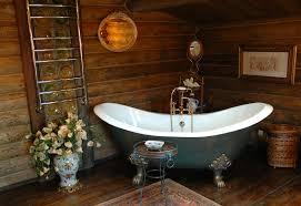 rustic bathroom tubs