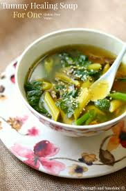 Light Breakfast Ideas For Upset Stomach Tummy Healing Soup For One
