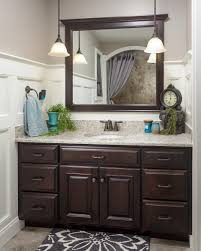 Dark bathroom vanity Bathroom Ideas Dark Wood Bathroom Vanity Bathroom Ideas In 2019 Bathroom Dark Wood Bathroom Wood Bathroom Pinterest Dark Wood Bathroom Vanity Bathroom Ideas In 2019 Bathroom Dark