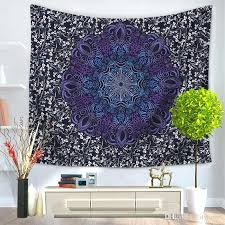 world map print tapestry wall hanging art decoration customized design make bohemian mandala home