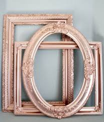 rose gold wall art large