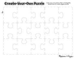 Free Printable: Create-Your-Own Puzzle printable   Lesson Plans ...