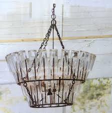 pottery barn explosion chandelier unique elena wood