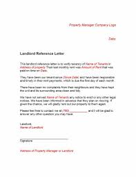 Landlord Reference Letter 24 Landlord Reference Letters Form Samples Template Lab 1