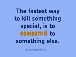 Compare Life Quotes