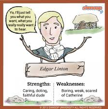 edgar linton in wuthering heights character analysis