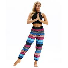 <b>Women Summer Bohemian Style Fashion</b> Pants <b>Women</b> Beach ...
