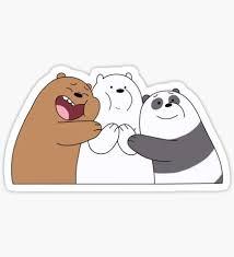 Ice Bear Stickers (con imágenes) | Pegatinas kawaii, Pegatinas ...