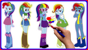 21 my little pony friendship is magic coloring pages rainbow dash 3