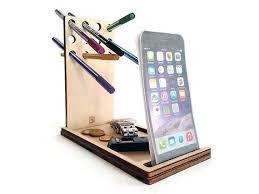 office desk accessories ideas. laser cut wood office organizerpencil holderdesktop organizerneat desk organizer accessories ideas o
