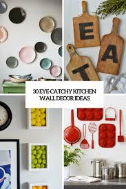 kitchen wall decorating ideas. Exellent Decorating Eye Catchy Kitchen Wall Decor Ideas Cover On Kitchen Wall Decorating Ideas D