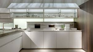 kitchen cabinets glass doors design style: stained pine wood kitchen islands varnished wooden chairs oak wood kitchen cabinet ceramic full area floor stainless steel swing faucet white marble kitchen