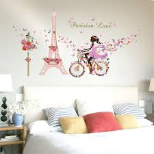bike wall art stickers