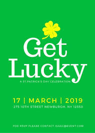 Simple Event Flyers Simple St Patricks Day Event Flyer Templates By Canva